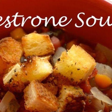 Minestrone Soup {slow cooker or stove top}