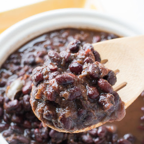 Slow Cooker Black Beans (Perfect for Tacos!)