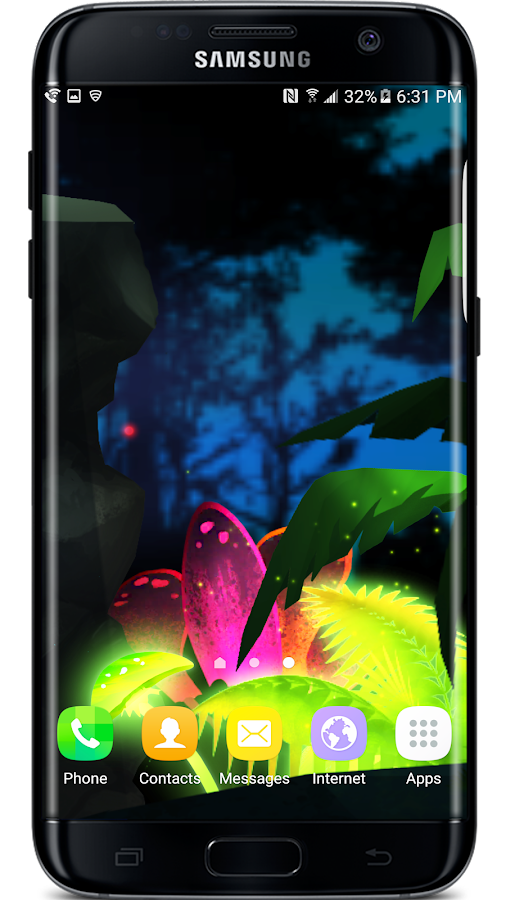 Firefly Jungle Live Wallpaper Screenshot 4