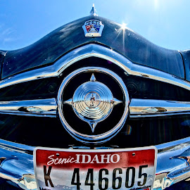 Famous Ford by Barbara Brock - Transportation Automobiles ( ford grill, front end of old ford, old car, classic automobile, classic ford )