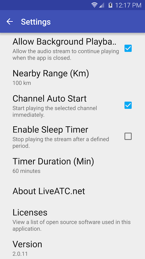 LiveATC for Android Screenshot 6