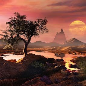 by Jamie Keith - Illustration Sci Fi & Fantasy