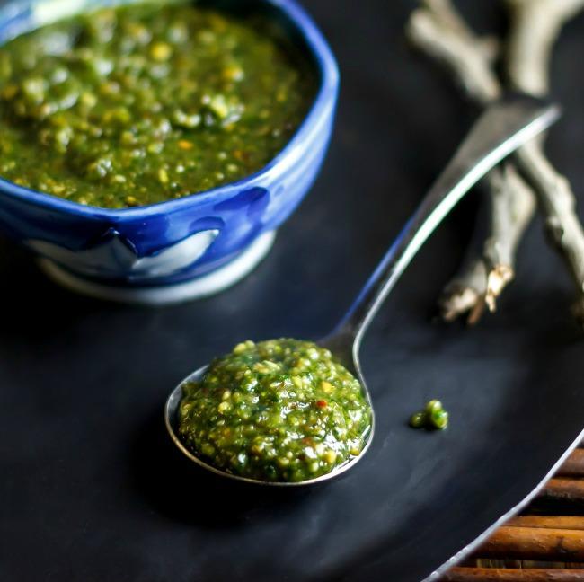 Thai Basil Pesto Recipe | Yummly