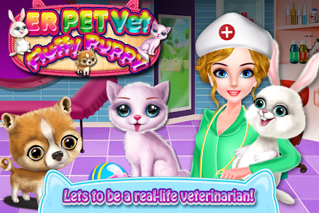 ER Pet Vet - Fluffy Puppy * Fun Game for Kids for pc