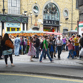 camden by Kathleen Devai - City,  Street & Park  Street Scenes ( market, london, people, city )