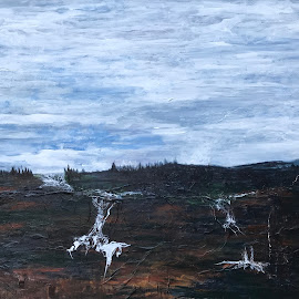 northern run off by Deb Dicker - Painting All Painting ( painting, abstract, realism )