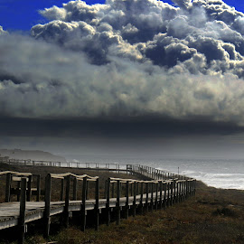 BIG clouds by Gil Reis - Landscapes Weather ( clouds, beaches, life, sky, nature, places )