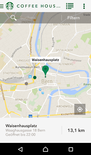 Starbucks Switzerland screenshot 4