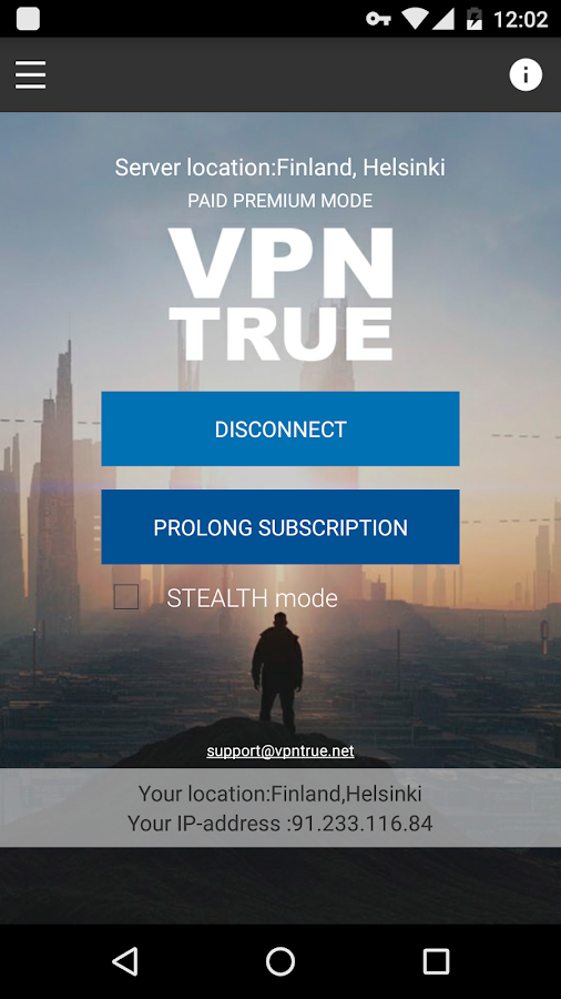 VPN TRUE { Free proxy+ } Screenshot 0