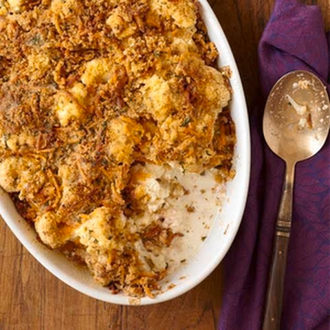 Ham and Cauliflower au Gratin Recept | Yummly