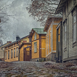Floored by Bojan Bilas - City,  Street & Park  Neighborhoods ( urban, urban exploration, suomi, fine art, finland, architecture, cityscape, travel, neighbourhood, city, rauma )