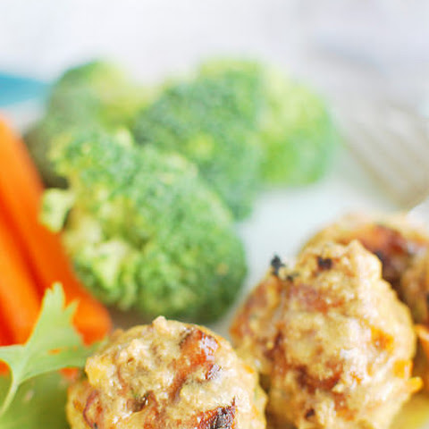 Thai Pork and Veggie Meatballs