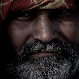 by Rita Chakrabarty - People Portraits of Men