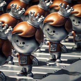 Freddy Funko  by Todd Reynolds - Artistic Objects Toys