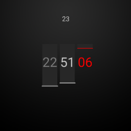 Clean Watch Face for Wear