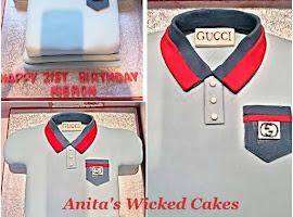 Polo T Shirt shaped cake