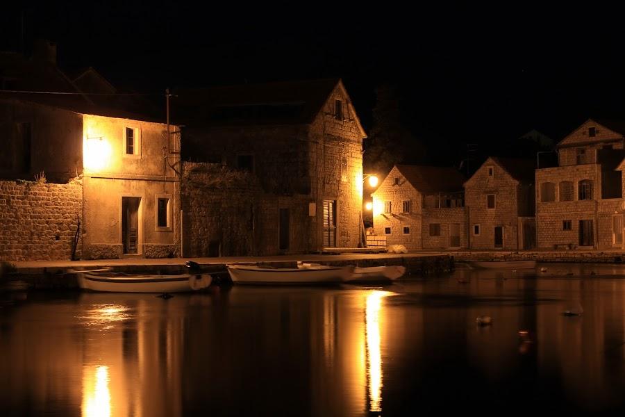 Vrboska, island Hvar, Croatia by Davor Kapetan - City,  Street & Park  Street Scenes