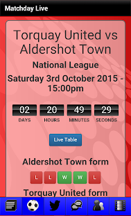 News for Aldershot Town - screenshot