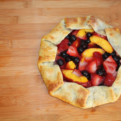 5-Minute Rustic Fruit Galette