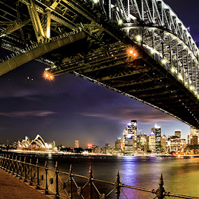 Harbour Bridge by Sefanya Dirgagunarsa - Buildings & Architecture Bridges & Suspended Structures ( pwcbridges, landmark, travel,  )