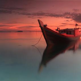 Boat Membahana by Teguh Satriyo - Transportation Boats