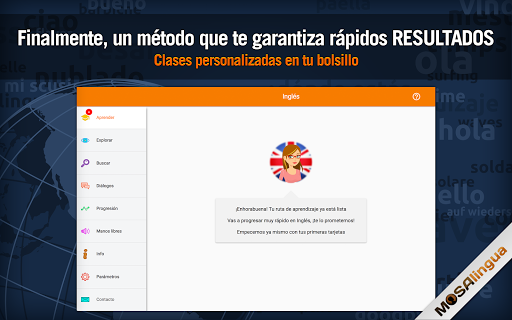 Aprender inglés gratis : vocabulario para hablar screenshot 7