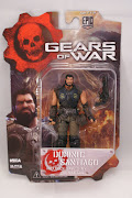 "Фигурка ""Gears of War 3 3/4"" Series 2 - Dominic Santiago /5шт"
