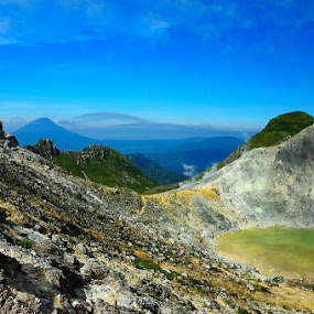 Caldera Sibayak by Taufiqurrahman Setiawan - Landscapes Mountains & Hills