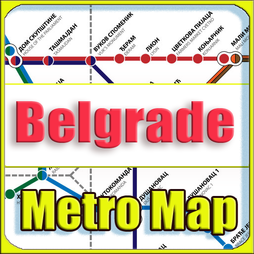 Android aplikacija Belgrade Metro map Offline na Android Srbija