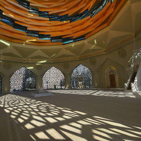 mosque by Mustafa Tor - Buildings & Architecture Architectural Detail ( angel, shadow, mosque, architecture )