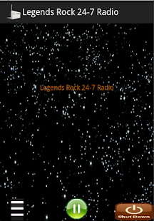 Legends Rock 24-7 Radio - screenshot