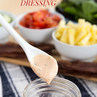 Greek Yogurt Barbecue Ranch Dressing