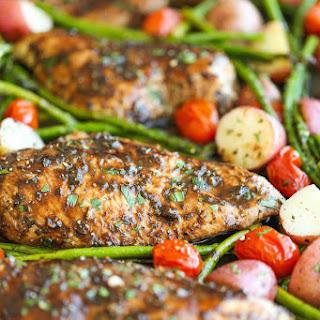 Balsamic Chicken Breast Potatoes Recipes