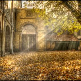 Doksany  monastery by Jana Vondráčková - City,  Street & Park  Historic Districts