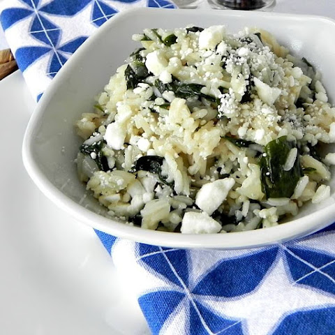 Greek Spinach Rice