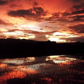 When God Burned The Sky #3 by Iwan Siswanto Setiaonebudhi Nugraha - Instagram & Mobile Other ( cs3, sunset, n97 mini )