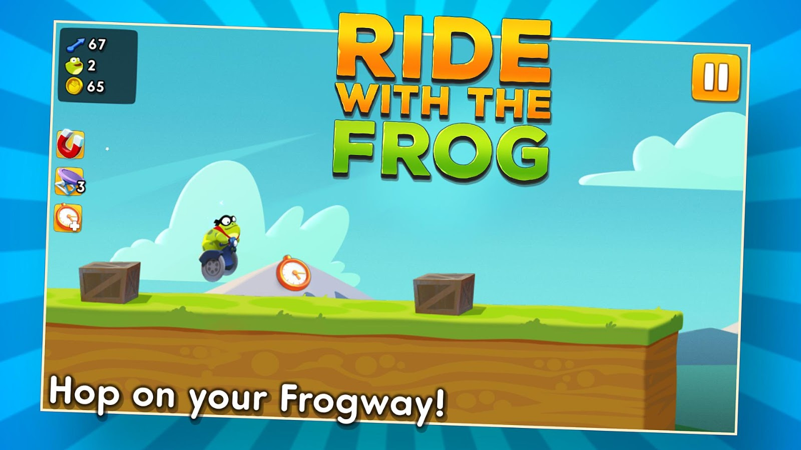 Ride with the Frog Screenshot