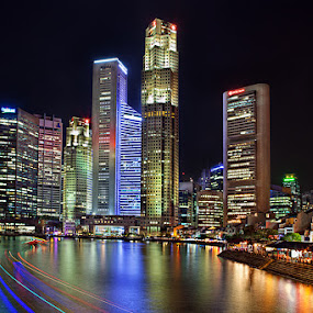 Boat Quay Singapore by Joseph Goh Meng Huat - Buildings & Architecture Office Buildings & Hotels