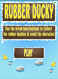 Rubber Ducky, Fun Avoider Game - screenshot
