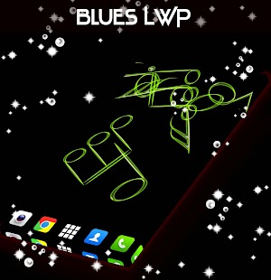 Blues Live Wallpaper - screenshot