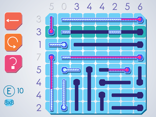 Thermometers Puzzles screenshot 9