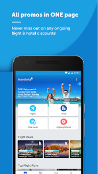 Traveloka Book Flight & Hotel APK screenshot thumbnail 1