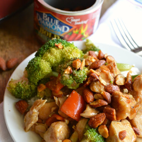 Slow Cooker Honey Sriracha Chicken Stir Fry