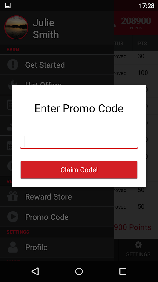 GrabPoints - Free Gift Cards Screenshot 7