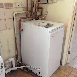 Replacement 36kw Grant boiler in Marston Saint Lawrence - Oxfordshire