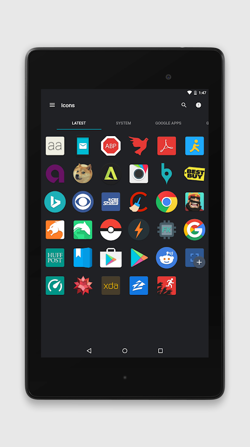 Zephyr - Icon Pack Screenshot 12