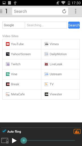 CrossKr Web Cast Browser (Pro) - screenshot