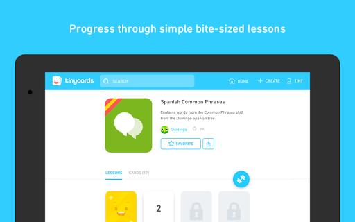 Tinycards by Duolingo: Fun & Free Flashcards screenshot 10