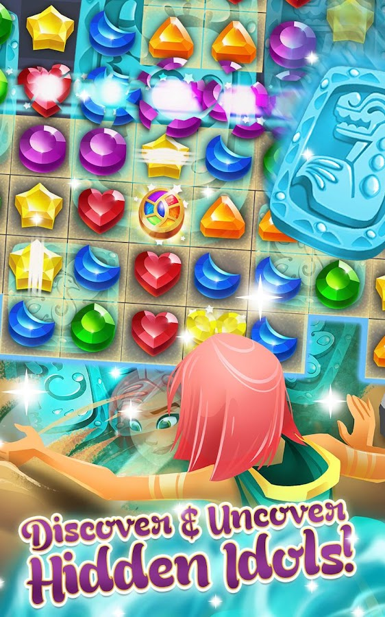 Genies & Gems - Jewel & Gem Matching Adventure Screenshot 2
