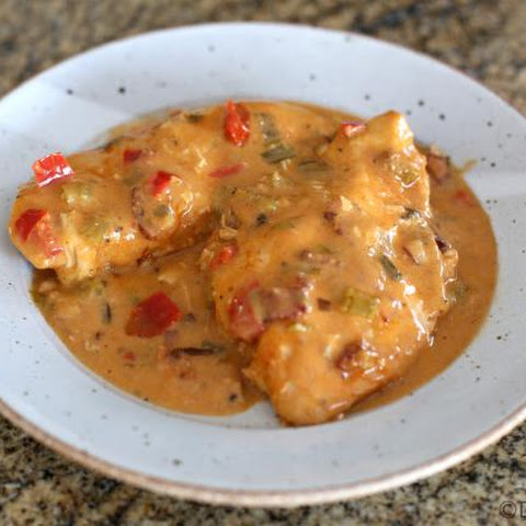 Crock Pot Chicken Breasts in Creamy Creole Sauce